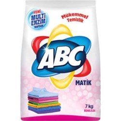 ABC DETERJAN - ABC MATİK 7KG COLOR
