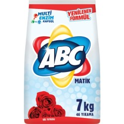 ABC DETERJAN - ABC MATİK 7KG GÜL TUTKUSU