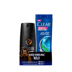REXONA - AXE DEODORANT DARK 150ML+CLEAR COOL 180ML