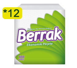 BERRAK - BERRAK PEÇETE 100LÜ 12 ADET