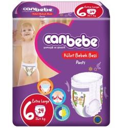 CANBEBE - CANBEBE KÜLOTLU BEZ X-LARGE 24LÜ