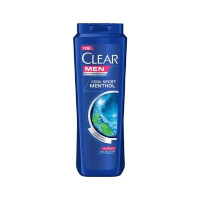 CLEAR ŞP 500ML MEN COOL SPORT MENTHOL