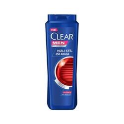 CLEAR - CLEAR ŞAMPUAN 500ML MEN HIZLI STİL 2 Sİ 1 ARADA
