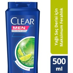 CLEAR - CLEAR ŞP 500ML MEN MAKSİMUM FERAHLIK
