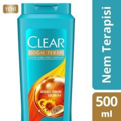 CLEAR - CLEAR ŞP 500ML NEM TERAPİSİ DEĞERLİ TOHUM