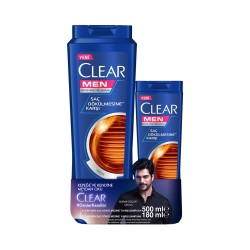 CLEAR - CLEAR ŞP 500ML+KREM 180 ML SAÇ DÖKÜLMESİNE KARŞI