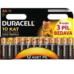 DURACEL - DURACEL AA(9+3) KALEM PİL