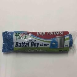 güç plastik - GÜÇ ÇÖP TORBASI BATTAL 75X90