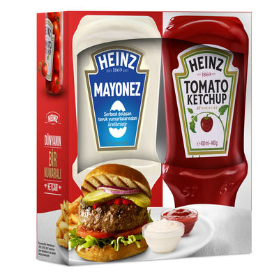 HEINZ KETÇAP 400ML + MAYONEZ 395ML