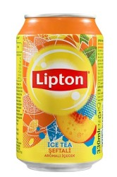 LİPTON ICE TEA - LİPTON ICE TEA 330ML ŞEFTALİ