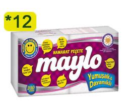 MAYLO - MAYLO PEÇETE 200LÜ HAMARAT 12 ADET