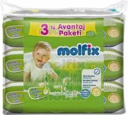 MOLFİX - MOLFİX ISLAK HAVLU 60+3
