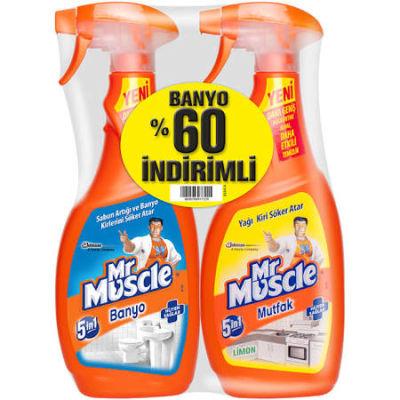 MR MUSCLE MUTFAK+BANYO