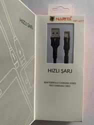 DİĞER - NARİTA USB ŞARJ TYPE C KABLO 6077