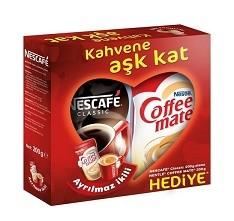NESTLE - NESCAFE KLASİK 200GR+COFFEE MATE