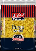 OBA MAKARNA - OBA MAKARNA 500GR BURGU