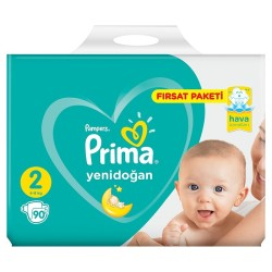 PRİMA - PRİMA AKTİF BEBEK FIRSAT PAKETİ MİNİ NO:2 90LI