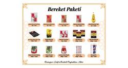 DİĞER - RAMAZAN KOLİSİ BEREKET PAKETİ