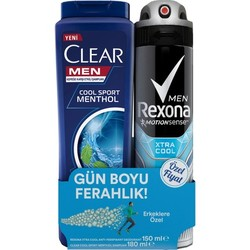 REXONA - REXONA DEO 2Lİ MEN EXTRA COOL 150ML+CLEAR COOL