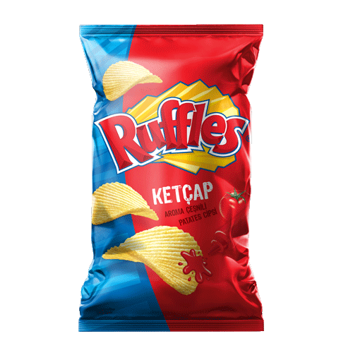 Ruffles Super Ketcap Cips Fritolay