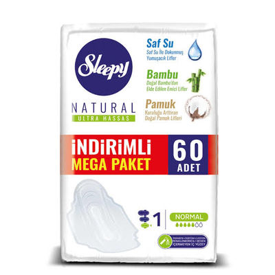SLEEPY MEGA PAKET ULTRA PED NORMAL 60LI