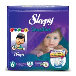 SLEEPY - SLEEPY SENSİTİVE X-LARGE PLUS 6+ 18Lİ