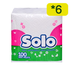 SOLO - SOLO PEÇETE 100LÜ 6 ADET