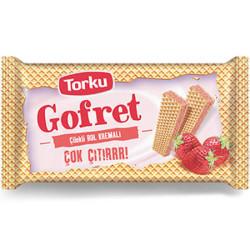 TORKU - TORKU GOFRET 40GR ÇİLEK