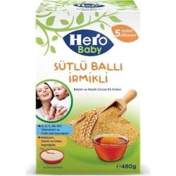 HERO BABY - HEROBABY KŞ 480GR İRMİKLİ BALLI